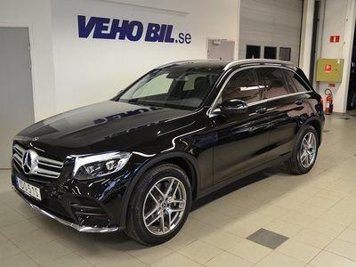 begagnad Mercedes GLC250 d 4M 4MATIC AMG Sky, Drag, Värmare, Navi, Burmester