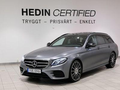 begagnad Mercedes E350 - BenzAMG LINE DRAG / PANORAMA / NAVI / VÄRMARE
