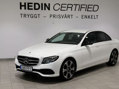 begagnad Mercedes E220 9G-Tronic, 194hk, 2018 night package