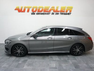 begagnad Mercedes CLA220 Shooting Brake CDI 7G-DCT AMG 1 Ägare 177hk
