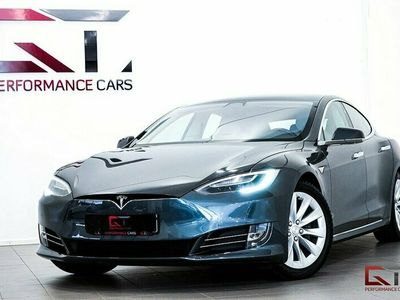 begagnad Tesla Model S 75D Pano Luftfjädring Premium Se Spec