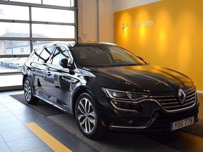 begagnad Renault Talisman SPORT TOURER Energy dCi 130 Intens EDC, Garanti 24 Månader, Svart läderklädsel, Navigation, Parkeringssensor fram/bak, Nyckelkort med handsfree