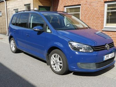begagnad VW Touran  automat, diesel, euro 5 -12