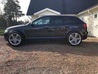 begagnad Audi A3 TDI 140hk SB/Xenon/Drag -11