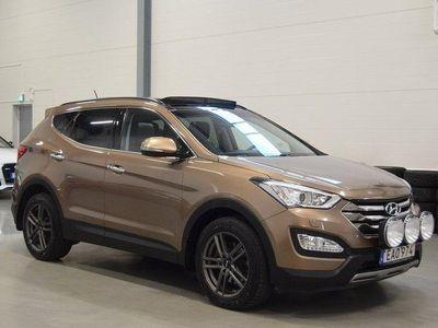 begagnad Hyundai Santa Fe CRDi 4WD 200HK Premium Webas -15