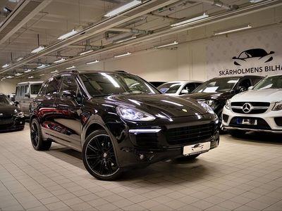 begagnad Porsche Cayenne PLATINUM EDITION SPORT CHRONO MAX UTR PANORA