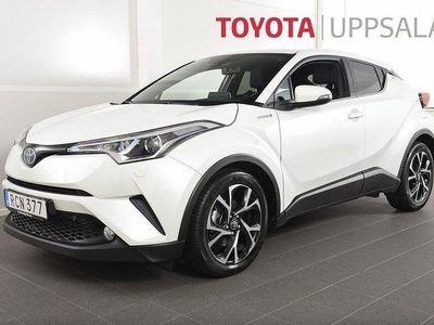 begagnad Toyota C-HR 1,8 Elhybrid X-edition Skinn JBL