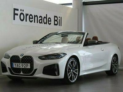 begagnad BMW 440 i xDrive Cab M Sport Innovation Aut Nav Head-Up H K 2021, Sportkupé Pris 839 000 kr