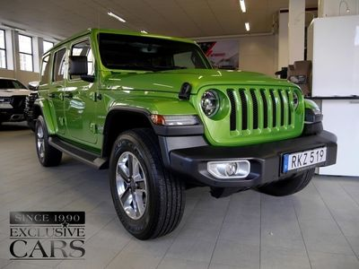 begagnad Jeep Wrangler Unlimited JL Sahara 271 hk