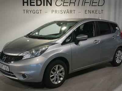 begagnad Nissan Note 1.2 80hk INKL. V-HJUL