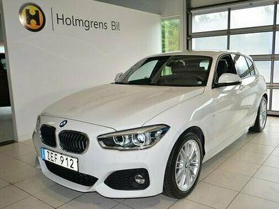 "begagnad BMW 118 M-Sport LED PDC 17"" 2018, Halvkombi Pris 184 800 kr"