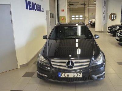 begagnad Mercedes C220 CDI AMG Vinterhjul