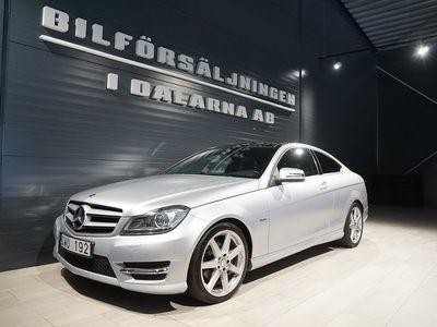 begagnad Mercedes 220 Benz C CDI Coupé AMG Sport 2011, Personbil 159 000 kr