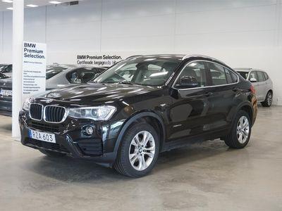 begagnad BMW X4 xDrive 20d Sport Paket Navi Drag HiFi
