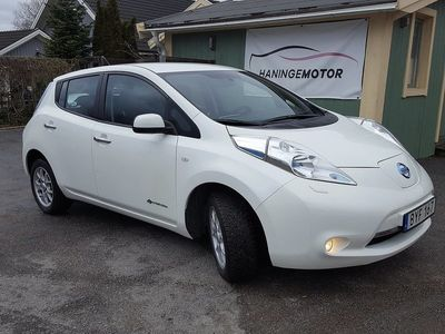 used Nissan Leaf 24 kWh/AUT/4200 MIL/VANLIG EL UTT -14