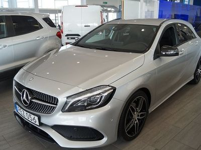 begagnad Mercedes 200 A Benz A i fritt bränsled 4MATIC AMG Värmare 2017, Halvkombi 249 000 kr