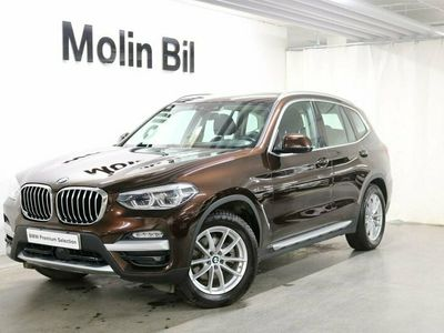 begagnad BMW X3 xDrive20d X-Line / Navigation