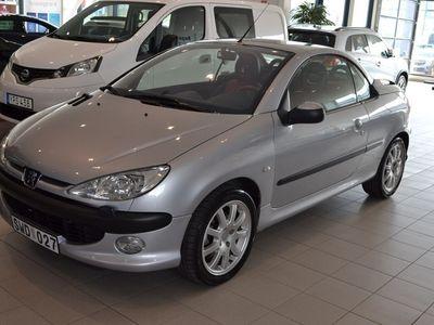 begagnad Peugeot 206 CC 2.0 (136hk)