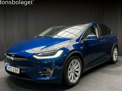 begagnad Tesla Model X Long Range FSD Drag 2019, Sedan Pris 879 000 kr