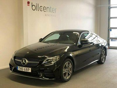 begagnad Mercedes C300 Coupé 9G-Tronic AMG Line 258hk