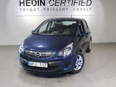 begagnad Opel Corsa Enjoy 5-dörrar 1,2 85HK Manuell
