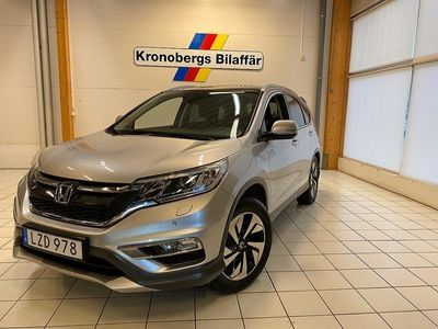 begagnad Honda CR-V 1.6 i-DTEC 4WD 160hk Executive Navi Aut