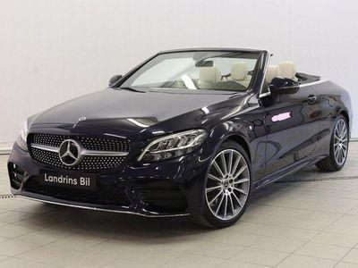 begagnad Mercedes C200 Cabriolet AMG-Line