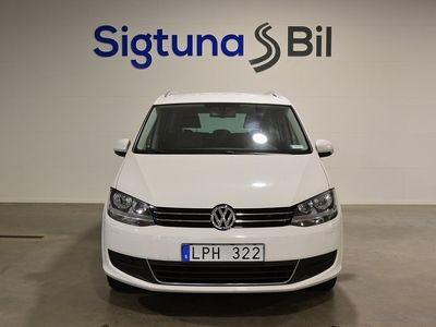 begagnad VW Sharan 2.0 BlueTDI 7-sits M-värmare 140hk