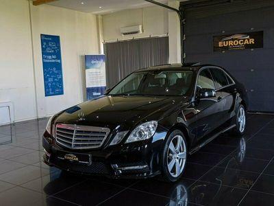 begagnad Mercedes E220 CDI AMG Taklucka 7G-Tronic Plus Drag 170