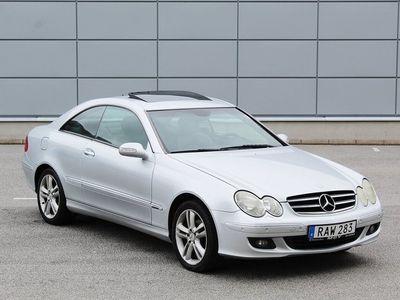 begagnad Mercedes CLK220 CDI Coupé Automat 150hk Diesel
