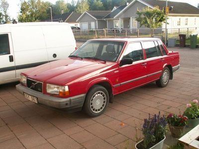 used Volvo 740 lågmil. pärla -90