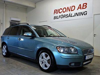 begagnad Volvo V50 D5 Automat Momentum 180hk drag 18 tum