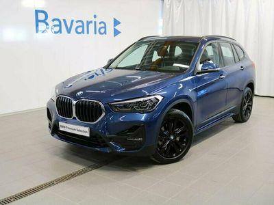 begagnad BMW X1 xDrive20d Sportline Drag Backkamera Nav Backkamera