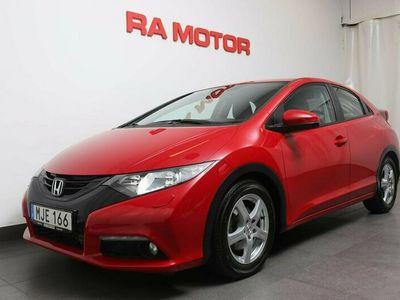 begagnad Honda Civic 1,6 Diesel 120hk Sport 5dr P-sensorer/Nyservad