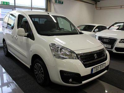brugt Peugeot Partner Van 1.6HDi/Automat/Nyskick/490Mil