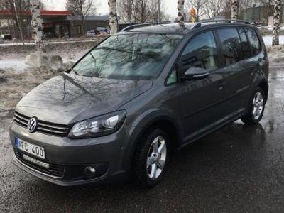 begagnad VW Touran Cross -13