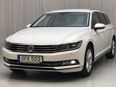 begagnad VW Passat Variant 2.0 TDI Sportscombi (190hk)