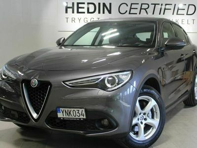 begagnad Alfa Romeo Stelvio Super 2,2 CRD 210Hk 8-steg aut AWD