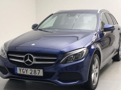 begagnad Mercedes C220 C-Klassd 4MATIC Kombi S205