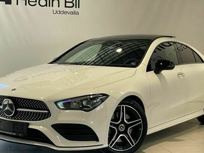 begagnad Mercedes CLA200 - Benzd / / AMG / / PANORAMA / / NIGHTPAVKAGE / / BESTÄLLNINGSBIL