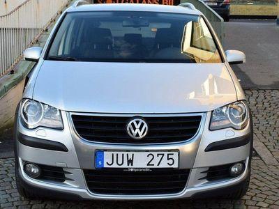 begagnad VW Touran Cross 2.0 TDI DSG Sekventiel