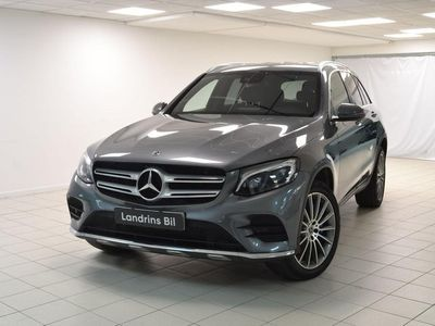 begagnad Mercedes GLC350 E 4MATIC