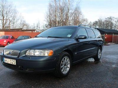 begagnad Volvo V70 2,4 140HK,1-Ägare,9500mil,0%Ränta,Nyservad,Nybesiktigad
