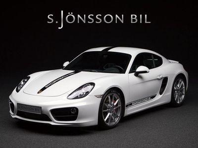 begagnad Porsche Cayman S / Skalstolar /