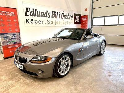begagnad BMW Z4 2.5i 192hk (8300mil)