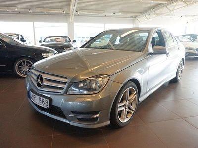 begagnad Mercedes C220 amg-sportCDI 170 hk 7 G-