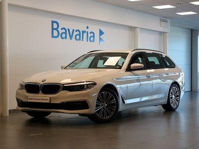 begagnad BMW 520 d xDrive Touring Sport Line Aut Nypris 539.000:-