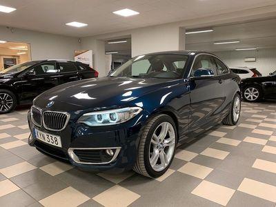 begagnad BMW 220 d Coupé Luxury Line 190 Hk värmare drag