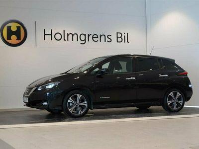 begagnad Nissan Leaf 40kWh Tekna 2019, Halvkombi Pris 269 900 kr