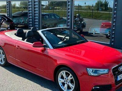 begagnad Audi A5 Cabriolet 2.0TFSI S-Line Quattro 2015, Sportkupé Pris 259 900 kr